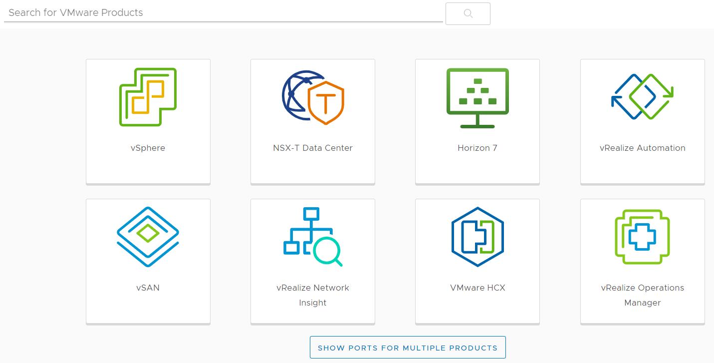 VMware软件常用查询链接
